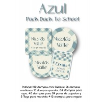 Pack Back to School Azul