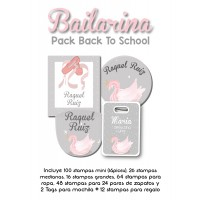 Pack Back to School Bailarina