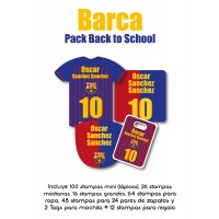 Pack Back to School Barca