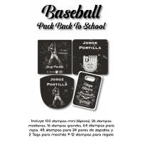Pack Back to School Baseball
