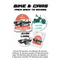 Pack Back to School Bike and Car