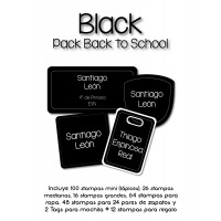 Pack Back to School Black