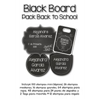 Pack Back to School Blackboard