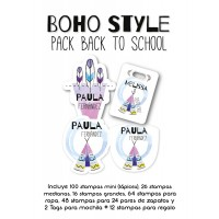 Pack Back to School Boho Style