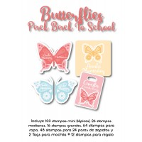 Pack Back to School Butterflies