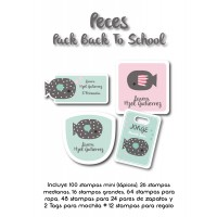 Pack Back to School Peces