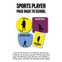 Pack Back to School Sports Player