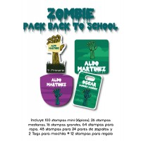 Pack Back to School Zombie