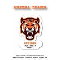 Escuela Vinil Animal Teams