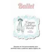 Pack School & Shoes Ballet