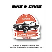 Escuela Vinil Bike and Cars