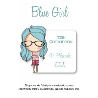 Escuela Vinil Blue Girl