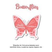 Escuela Vinil Butterflies