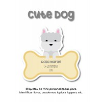 Escuela Vinil Cute Dog