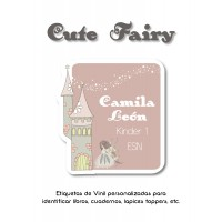 Escuela Vinil Cute Fairy