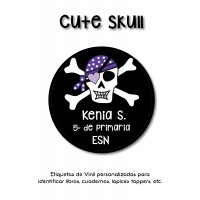 Pack Clothes & School Cute Skull
