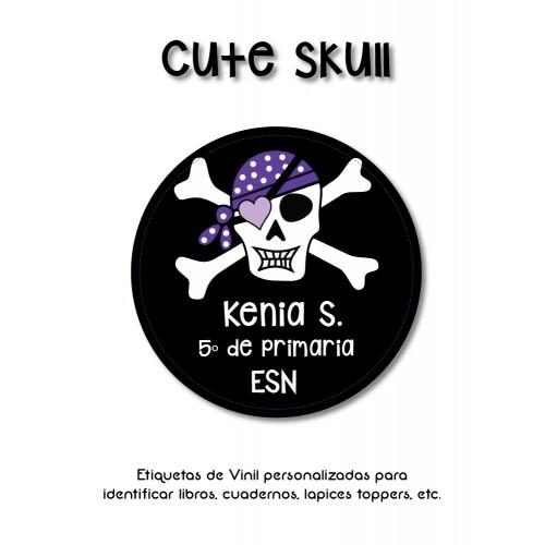 Pack Clothes & School Cute Skull