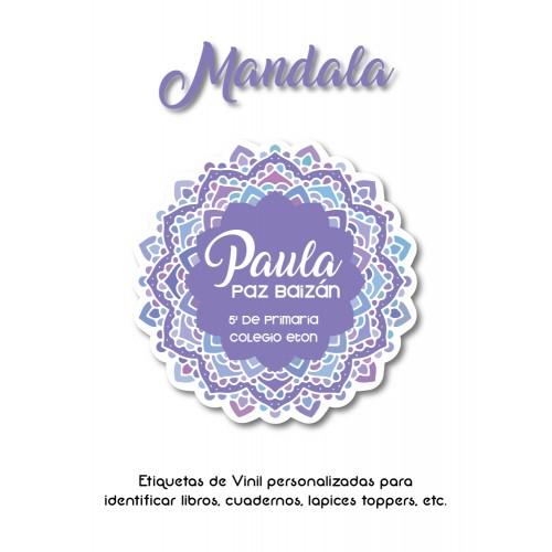 Pack Clothes & School Mandala