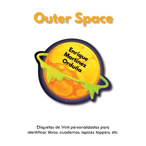 Pack Clothes & School Outer Space