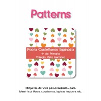 Escuela Vinil Patterns