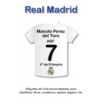 Escuela Vinil Real Madrid