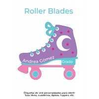 Pack School & Shoes Roller Blades