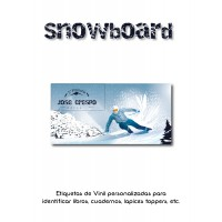 Pack Back to School Snowboard