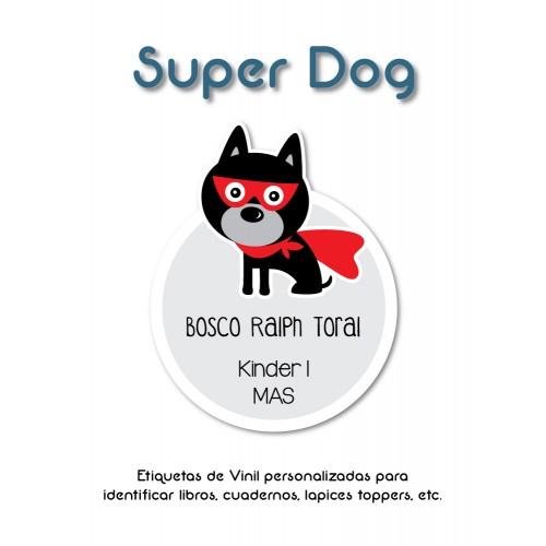 Pack Clothes & School Super Dog