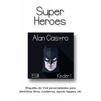 Escuela Vinil Super Hero