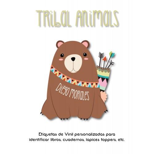 Pack Premium Ropa, Zapatos y Escuela Tribal Animals