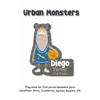 Escuela Vinil Urban Monsters