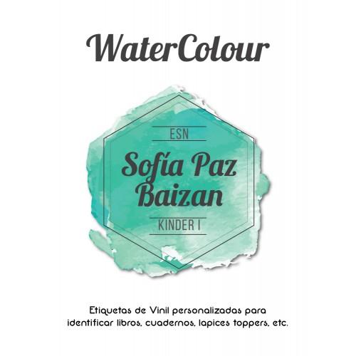 Pack Premium Ropa, Zapatos y Escuela WaterColour