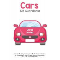 Kit Guardería Cars