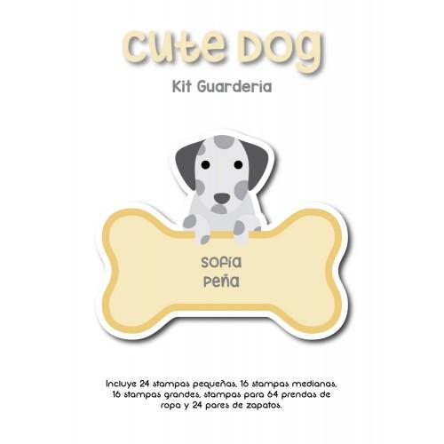 Kit Guardería Cute Dog