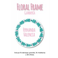 Guardería Floral Frame