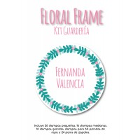 Kit Guardería Floral Frame