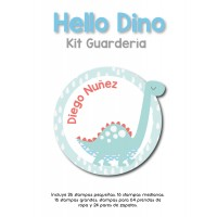 Kit Guardería Hello Dino