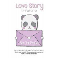 Kit Guardería Love Story