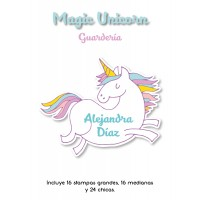 Kit Guardería Magic Unicorn
