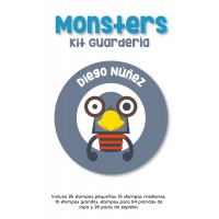 Kit Guardería Monster