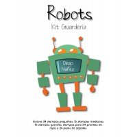 Kit Guardería Robots