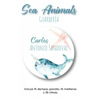 Guardería Sea Animals