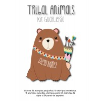Kit Guardería Tribal Animals