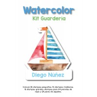 Kit Guardería WaterColour