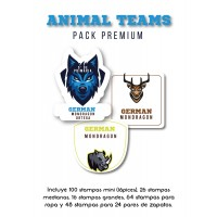 Pack Premium Ropa, Zapatos y Escuela Animal Teams