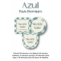 Pack Premium Ropa, Zapatos y Escuela Azul