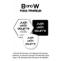 Pack Premium Ropa, Zapatos y Escuela B&W