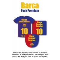 Pack Premium Ropa, Zapatos y Escuela Barca