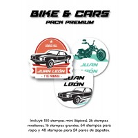 Pack Premium Ropa, Zapatos y Escuela Bike and Car