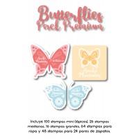 Pack Premium Ropa, Zapatos y Escuela Butterflies